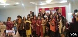 تقریب میں بٖڑی تعداد میں پاکستانیوں نے شرکت کی۔