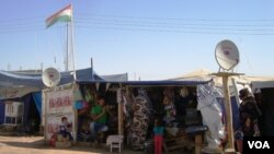 Domiz Refugee Camp in Kurdistan Region