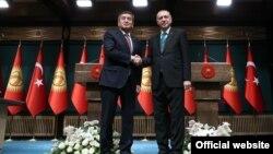 Qirg'iziston va Turkiya prezidentlari, Anqara, Turkiya