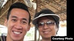 Will Nguyễn và bà Vân Nguyễn.