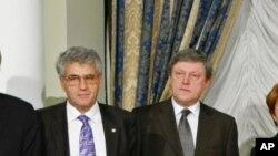 Леонид Гозман и Григорий Явлинский