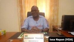 Colonel Ousmane Traoré, gouverneur de la région de l'Est, le 17 décembre 2018. (VOA/Issa Napon)