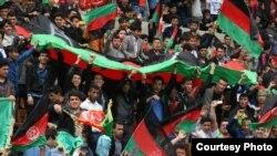 افغان های حاضر در میدان ورزشی تختی تهران