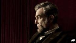 "Daniel Day-Lewis portrays President Abraham Lincoln in Steven Spielberg's ""Lincoln,"" November 2012."