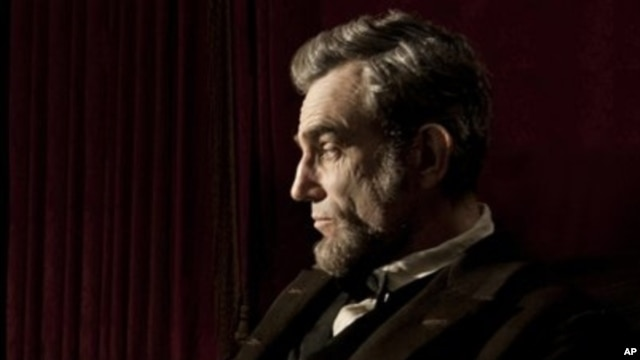 "Daniel Day-Lewis portrays President Abraham Lincoln in Steven Spielberg's ""Lincoln,"" November 2012."