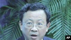 Chinese Diplomat Yu Qingtai