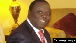 Opposition leader Morgan Tsvangirai.