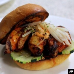 The Yuzu Kosho chicken sandwich is one of many new food offerings at UCLA.