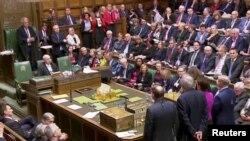 Glasanje o predlogu Tereze Mej za Bregzit u britanskom parlamentu