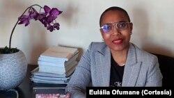 Eulália Ofumane, diretora-executiva da AMMCJ