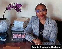 """Eulália Ofumane: É normal que """"as mulheres antes de denunciar consultem as suas famílias, porque não sabem como vão levar a vida..."""""""