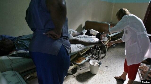 El 28 de agosto de 2012 Cuba anunció que había sido erradicado un foco de cólera detectado el 3 de julio en el municipio de Manzanillo.