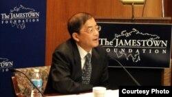 上海国际问题研究中心主任潘光 (图片来源: 詹姆斯顿基金会)