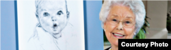 Ann Taylor Cook, the face of Gerber baby food, turned 91. (Gerber)