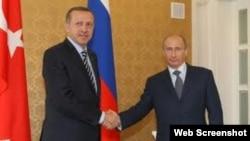 Rəcəb Tayyib Ərdoğan və Vladimir Putin