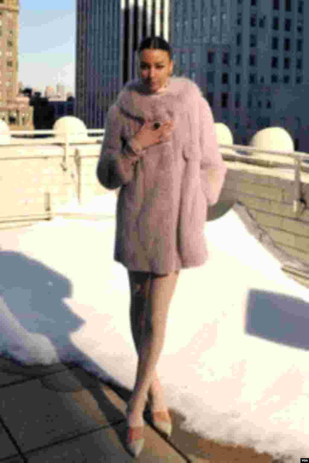 Helen Yarmak Fashion Show