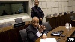 Bivši liberijski predsednik Čarls Tejlor u sudnici u Hagu