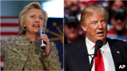 'Yan Takarar Neman Shugabancin Amurka, Hillary Da Trump
