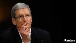 苹果公司首席执行官蒂姆•库克