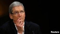 苹果公司的首席执行官库克(2013年5月)