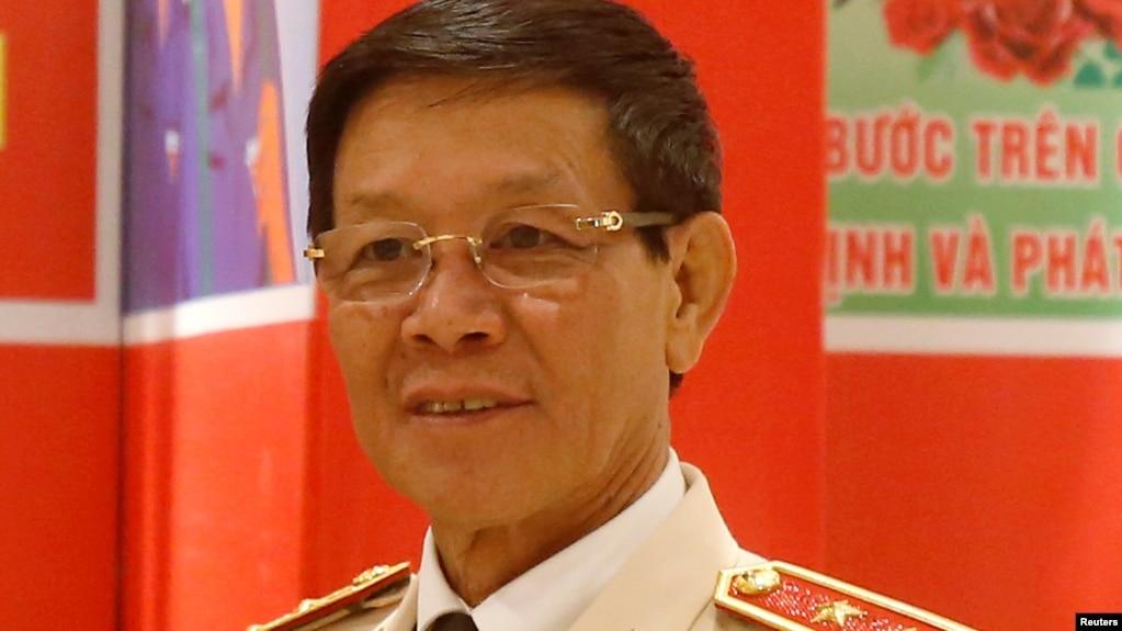 Trung tướng công an Phan Văn Vĩnh, cựu Tổng cục trưởng Tổng cục Cảnh sát.