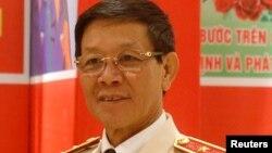 Tướng Phan Văn Vĩnh thời còn tại chức.