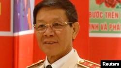 Cựu tướng Công An, Phan Văn Vĩnh, hình chụp năm 2016. (REUTERS)