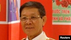 Cựu Tổng cục trưởng Tổng cục cảnh sát Phan Văn Vĩnh.