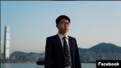 張崑陽在臉書上自我證實已經離開香港。
