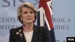Menteri Luar Negeri Australia Julie Bishop (Foto: dok).