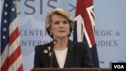 Menteri Luar Negeri Australia Julie Bishop.