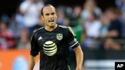 Donovan es el principal goleador en la historia de la MLS y cinco veces campeón de la liga con L.A. Galaxy y con San José Earthquakes.