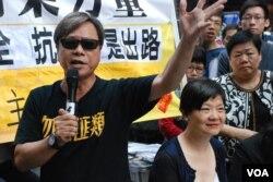 人民力量立法會議員黃毓民認為,北京有意排除泛民主派候選人參選2017年特首選舉