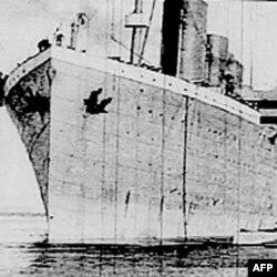 Brod Titanik prije isplovljavanja