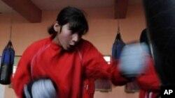 افغان باکسر خواتین