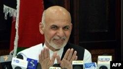 FILE - Ashraf Ghani.