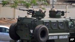 尼日利亞軍方加強戒備