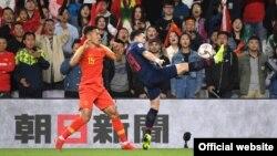 دیدار تیم های چین و تایلند