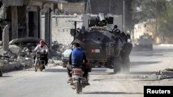 autoblindë e ushtrisë turke në Siri