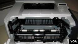 Uno de los paquetes tenía el explosivo escondido en el cartucho de tinta de una impresora.