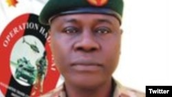 Manjo Janar Farouk Yahaya (Twitter/ Defense Headquarters)