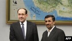 Нури Малики и Махмуд Ахмадинеджад