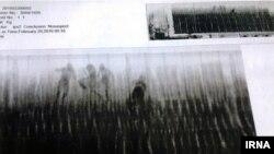 تصویر گمرک ایران از اسکن کانتینرها و یافتن افرادی در یک کانتینر