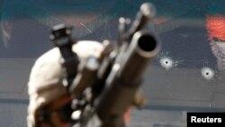在阿富汗库纳尔省佩什山谷的美军。(2009年8月4日)