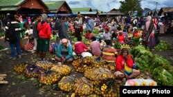 Pasar Tradisional di Wamena, Papua (Foto: dok).