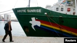 Arctic Sunrise (Фото из архива)