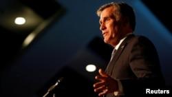 Мітт Ромні промовляє на заході Республіканської партії у штаті Юта