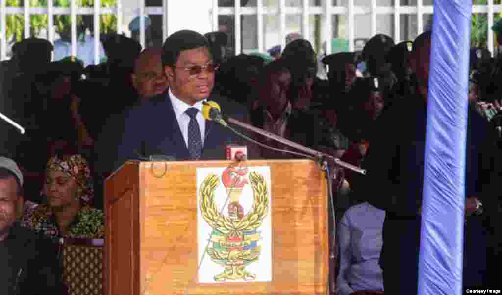 Majaliwa at Farewell