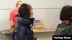 국정 개입 의혹을 받고 있는 최순실 씨가 30일 한국에 입국하고 있다.