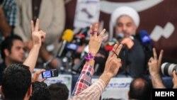 حسن روحانی، رییس جمهوری منتخب ایران